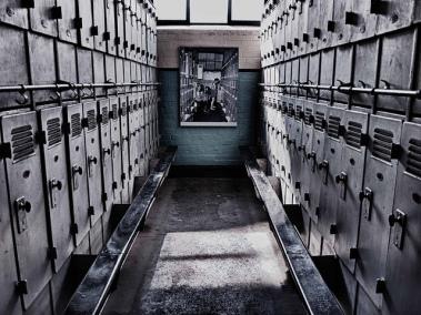 Locker Room, Big Pit Mine