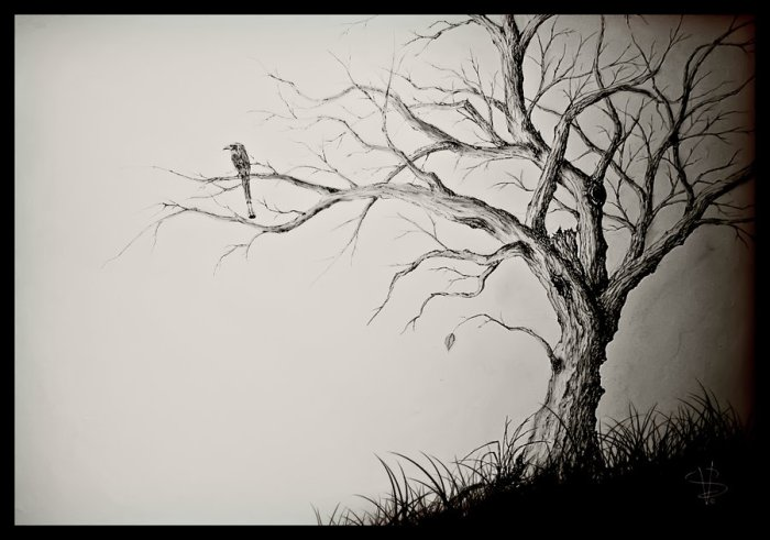 the_last_leaf_on_a_dying_tree_by_simonvelazquezart-d3int26