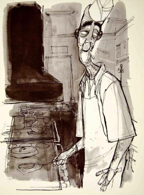 Erich-Sokol-cook-chef-diner-illustration